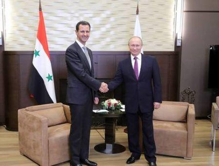 اخباربین الملل,خبرهای  بین الملل, دیدار بشار اسد با ولادیمیر پوتین