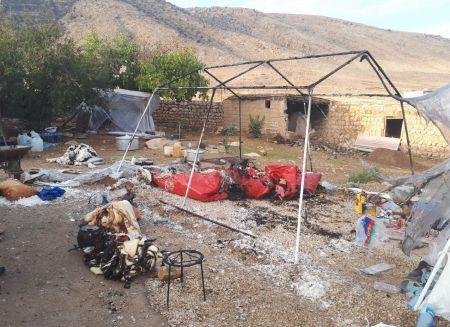 اخبار,اخبار حوادث,آتش در چادر زلزلهزدگان