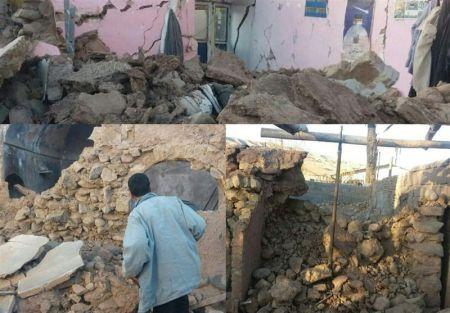 51 مصدوم در زلزله/ وقوع ۵۳ پس لرزه تاکنون/ ایجاد اردوگاه موقت در منطقه