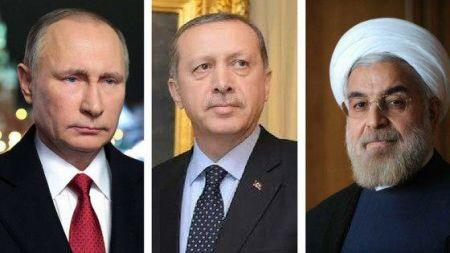 اجلاس تاریخی صلح با حضور روسای جمهور روسیه، ایران و ترکیه