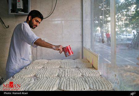 قیمت نان بربری و سنگک با کنجد رند می شود