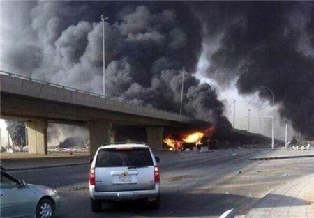 رویترز:صدای انفجار در پایتخت عربستان شنیده شد