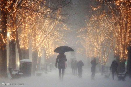ورود توده هوای سرد به کشور/کاهش ۴ تا ۶ درجهای دمای تهران