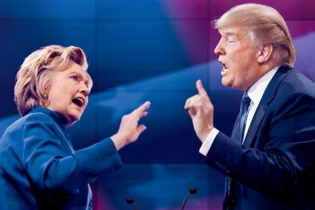 اخبار,اخبار بین الملل,ترامپ و کلینتون