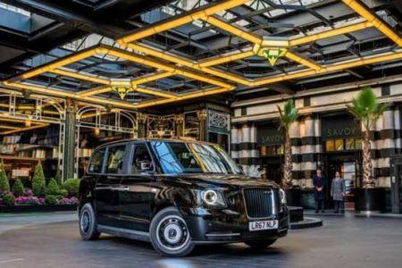 تاکسی های الکتریکی جالب در لندن ( Electric taxi in London ) - کافه خبری (cafekhabari)