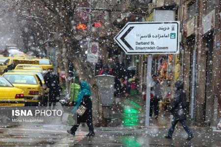 اخباراجتماعی  ,خبرهای اجتماعی  ,برفی که فقط در نصف تهران بارید