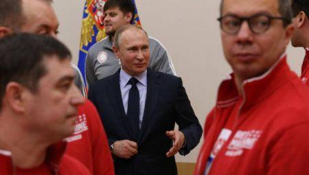 اخبار,اخبار عکس خبری,عذرخواهی پوتین از ورزشکاران المپیکی روسیه