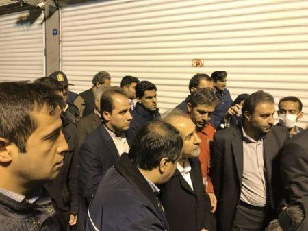 شهردار تهران: احتمال فروپاشی بخشی از ساختمان برق حرارتی وزارت نیرو وجود دارد