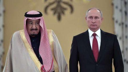 اخبار,اخبار بین الملل,پوتین و پادشاه عربستان