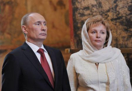 اخبار,اخبار بین الملل,پوتین و همسرش