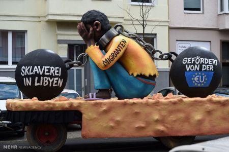 اخبار,اخبارگوناگون, کارناوال خیابانی در آلمان