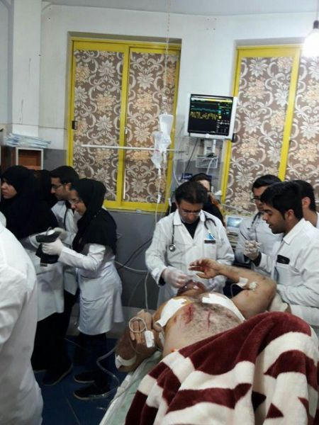 اخبار,اخبارحوادث,حادثه واژگونی اتوبوس در محور یاسوج-اصفهان