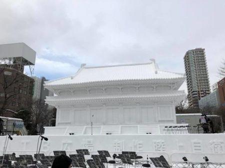 اخبار,اخبار گوناگون,جشنواره مجسمهها و قصرهای برفی در ژاپن