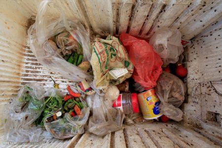 اخبار,عکس خبری, زندگی یمنی ها در میان زباله ها