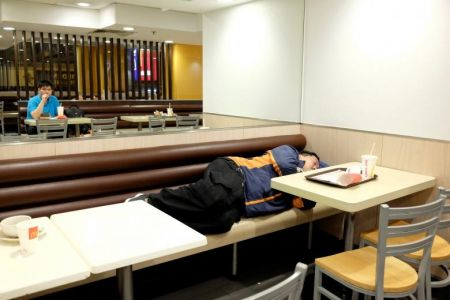 اخبار,اخبار گوناگون,افزایش تعداد بیخانمانها در هنگکنگ