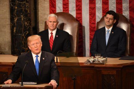 اخبار,عکس خبری,سخنرانی سالانه ترامپ در کنگره