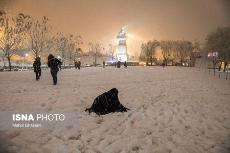 اخباراجتماعی  ,خبرهای  اجتماعی  ,تهران سفید پوش