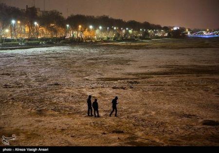 اخباراجتماعی ,خبرهای  اجتماعی ,  بارش برف در اصفهان