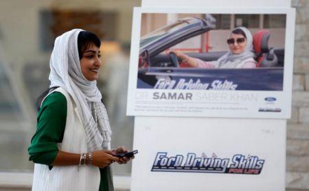 آموزش رانندگی ویژه زنان در عربستان