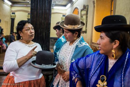 اخبار,اخبارگوناگون, پوشش بومی زنان بولیوی