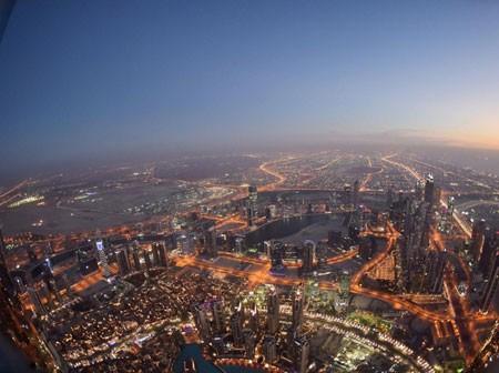 عکسهای جالب,عکسهای جذاب,نمای شهر دبی