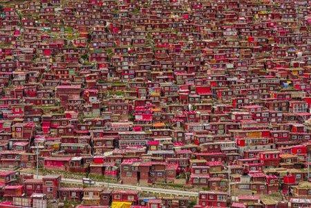 عکسهای جالب,عکسهای جذاب,محله مسکونی راهب ها