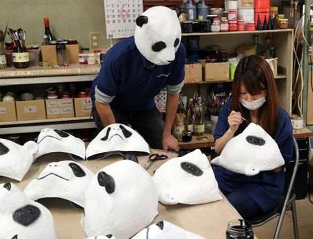 عکسهای جالب,عکسهای جذاب, ماسک های پاندا