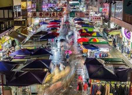 عکسهای جالب,عکسهای جذاب,بازار خیابانی