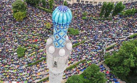عکسهای جالب,عکسهای جذاب,نماز عید قربان
