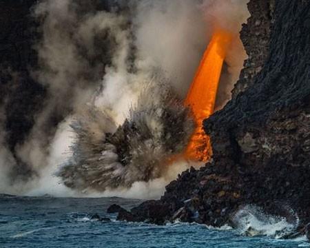 عکسهای جالب,عکسهای جذاب,مایعات مذاب آتشفشان