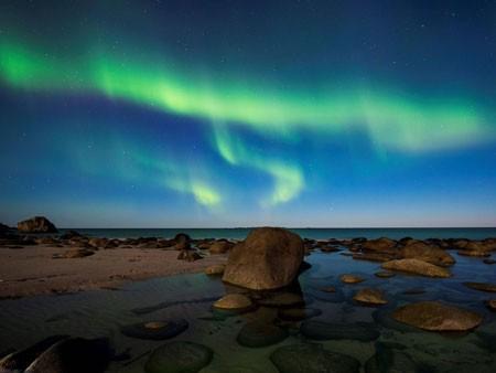 عکسهای جالب,عکسهای جذاب,شفق قطبی