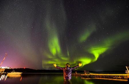 عکسهای جالب,عکسهای جذاب,پدیده شفق قطبی