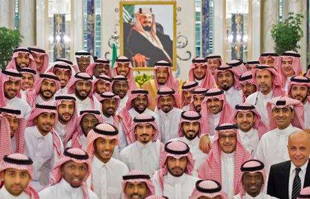 عکسهای جالب,عکسهای جذاب,تیم ملی فوتبال عربستان سعودی