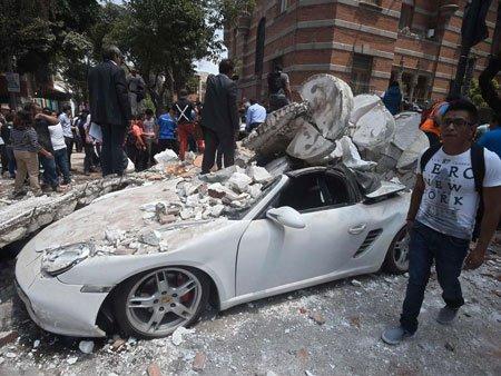 عکسهای جالب,عکسهای جذاب, زلزله مکزیکو سیتی