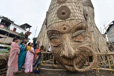 عکسهای جالب,عکسهای جذاب,جشنواره دورگا پوجا