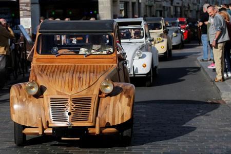 عکسهای جالب,عکسهای جذاب,رژه ژیان ها در فرانسه