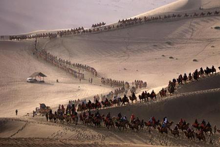 عکسهای جالب,عکسهای جذاب, صحاری شمال غرب چین