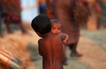 عکسهای جالب,عکسهای جذاب,نوزاد روهینگیایی