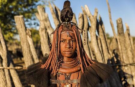 عکسهای جالب,عکسهای جذاب,یک زن قبیله