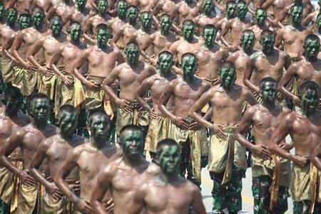 عکسهای جالب,عکسهای جذاب,نیروهای ارتش اندونزی