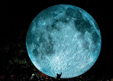عکسهای جالب,عکسهای جذاب,ماه شبیه سازی شده