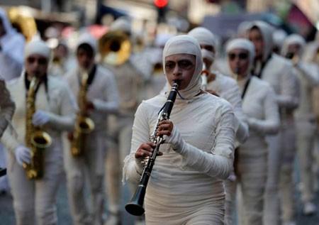 عکسهای جالب,عکسهای جذاب,گروه موسیقی مومیایی