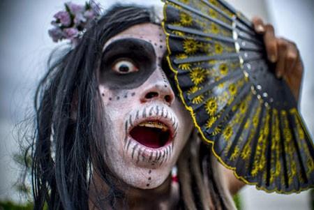 عکسهای جالب,عکسهای جذاب, جشنواره روز مردگان