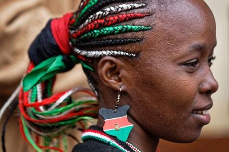 عکسهای جالب,عکسهای جذاب,انتخابات ریاست جمهوری کنیا