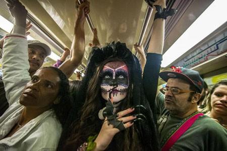 عکسهای جالب,عکسهای جذاب,جشنواره روز مردگان