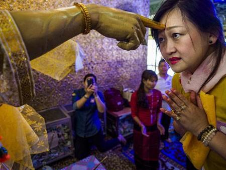 عکسهای جالب,عکسهای جذاب, زن بودایی