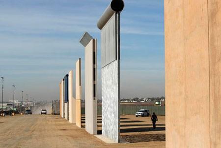 عکسهای جالب,عکسهای جذاب, دیوار مرزی جدید بین آمریکا و مکزیک