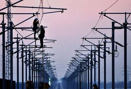 عکسهای جالب,عکسهای جذاب,خط آهن برقی