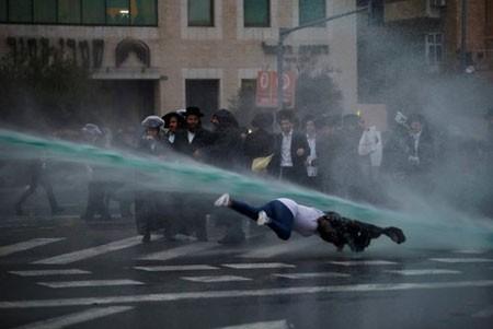 عکسهای جالب,عکسهای جذاب,استفاده پلیس اسراییل