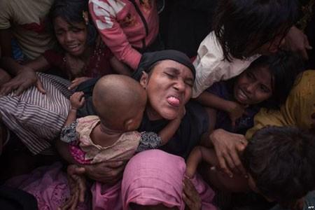عکسهای جالب,عکسهای جذاب,پناهجویان مسلمان میانماری